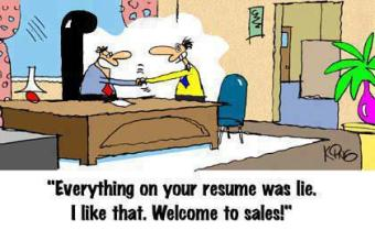 hilarious truth about salesman